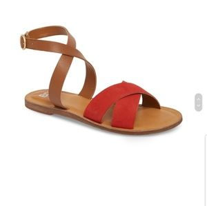 🌻Red Strappy Sandal🌻